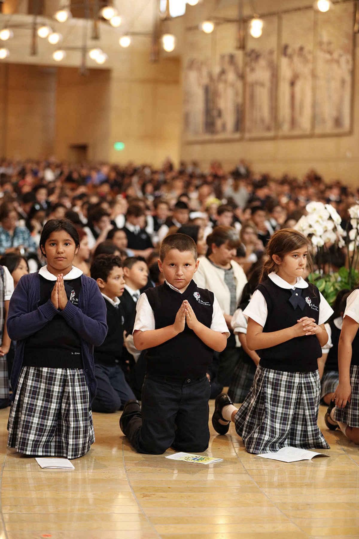 A 'hopeful and optimistic' outlook on Catholic schools