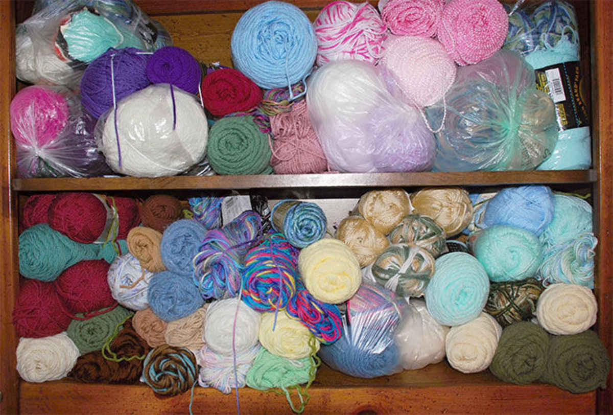Yarn and prayer make up St  Rita's Prayer Shawl Ministry - Angelus