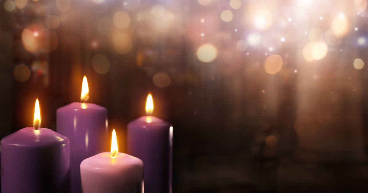 advent candles beautiful worship -#main