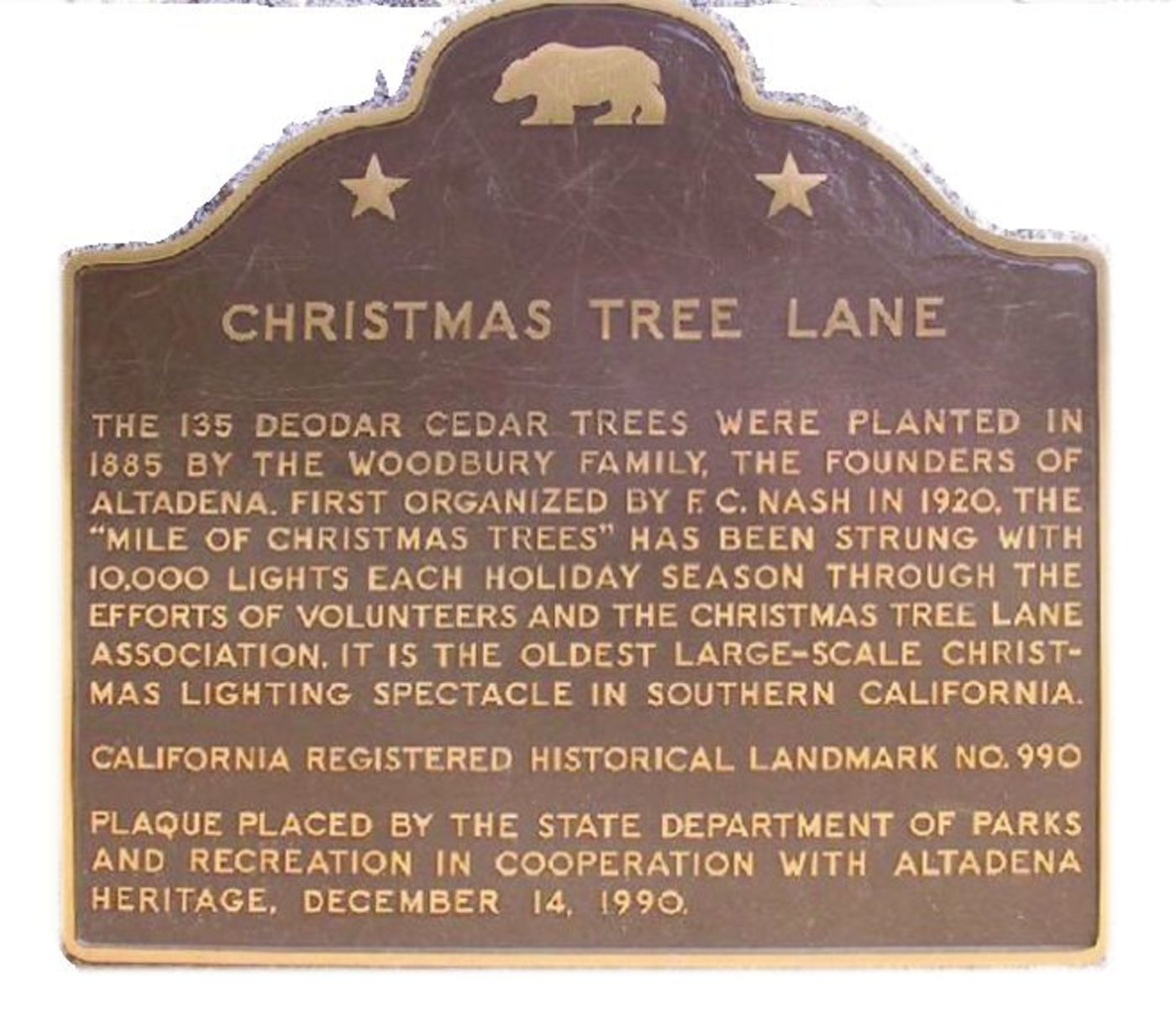 Set Aside A Night For Altadena S Christmas Tree Lane Angelus News
