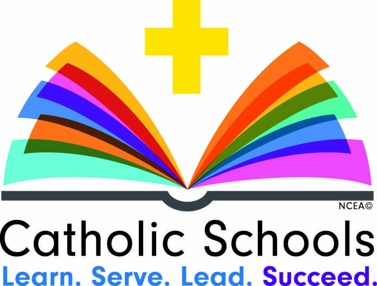Image result for catholic school learn lead succeed