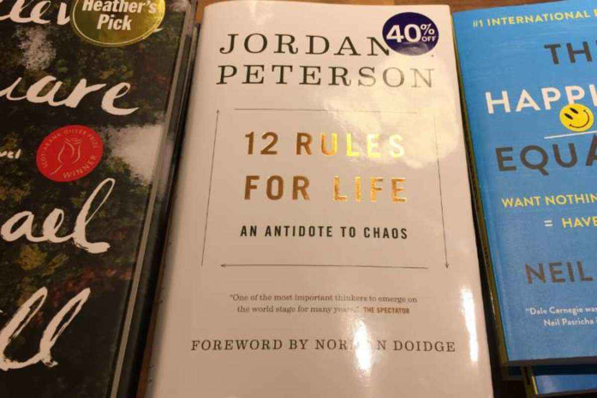 Jordan Peterson 12 Elämänohjetta