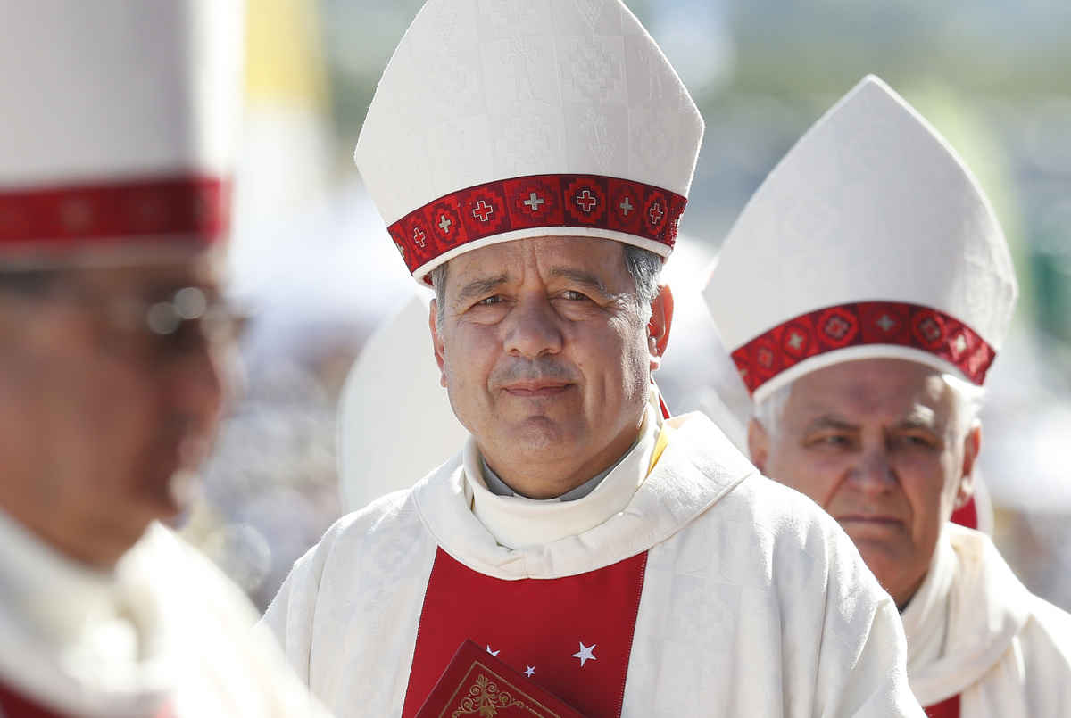Pope Francis Accepts Resignation Of Bishop Juan Barros Over Chilean Abuse Scandal
