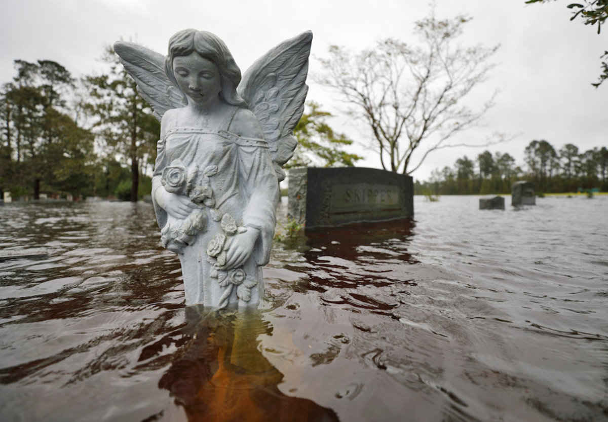 Catholic Charities distributes disaster relief to areas hit by Florence - Angelu...