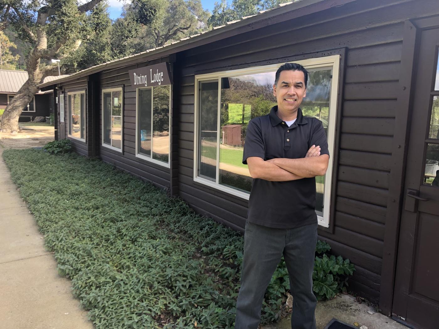 Ray Lopez Director of Circle V Ranch Camp