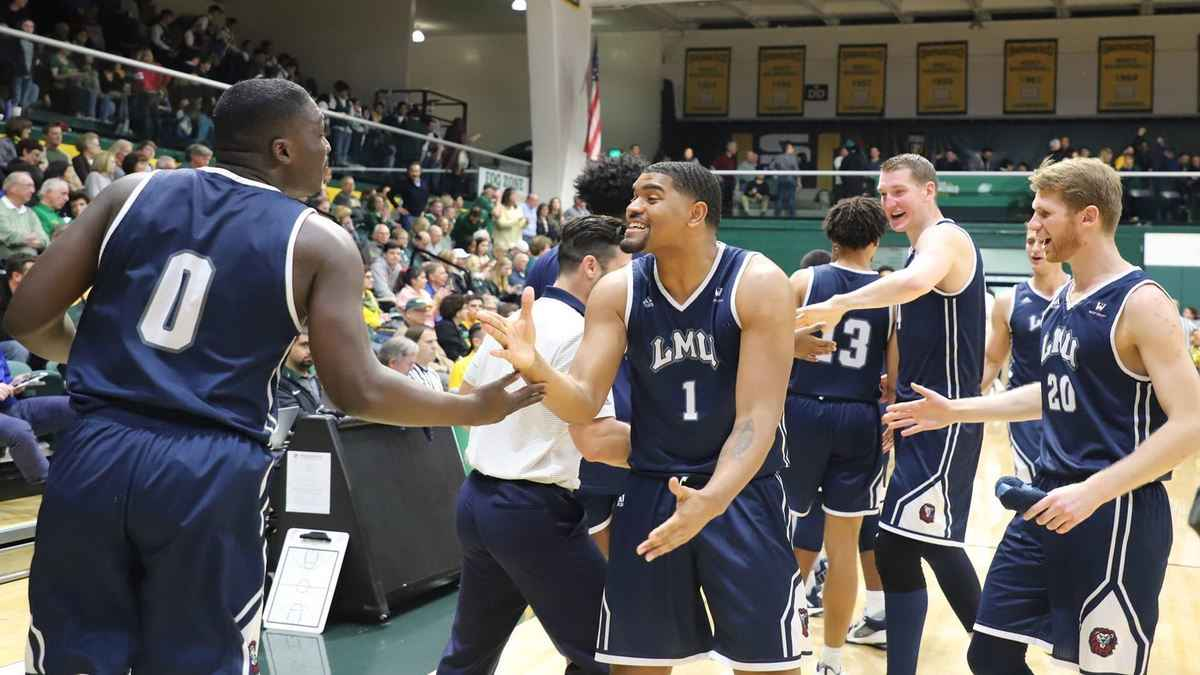 afe1c39fcb3 The LMU men s and women s teams open play in the WCC Tournament on March 8.  (LMU ATHLETICS). The Loyola Marymount University men s basketball ...