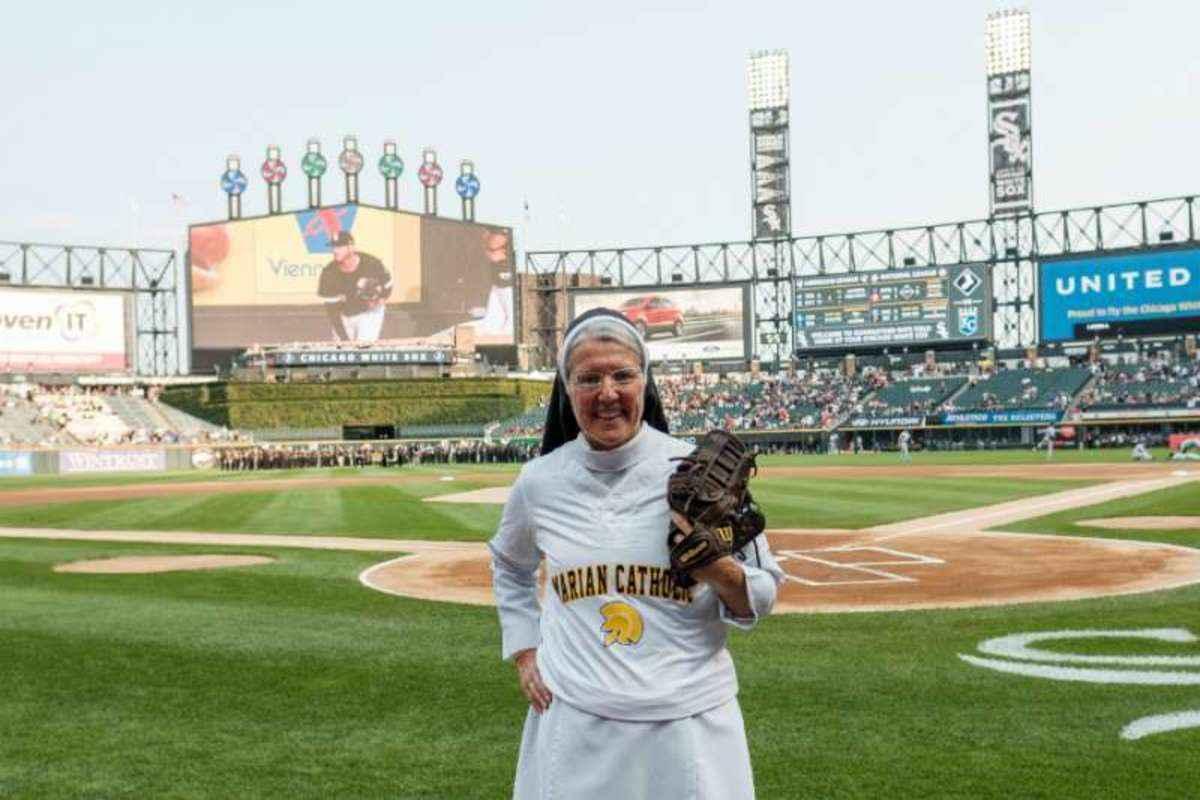 Sister Strike Gets Her Own Baseball Card Angelus News