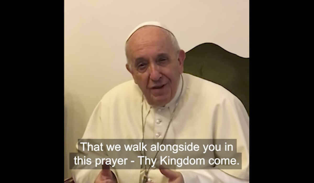 Pope encourages Catholics to join ecumenical prayer campaign