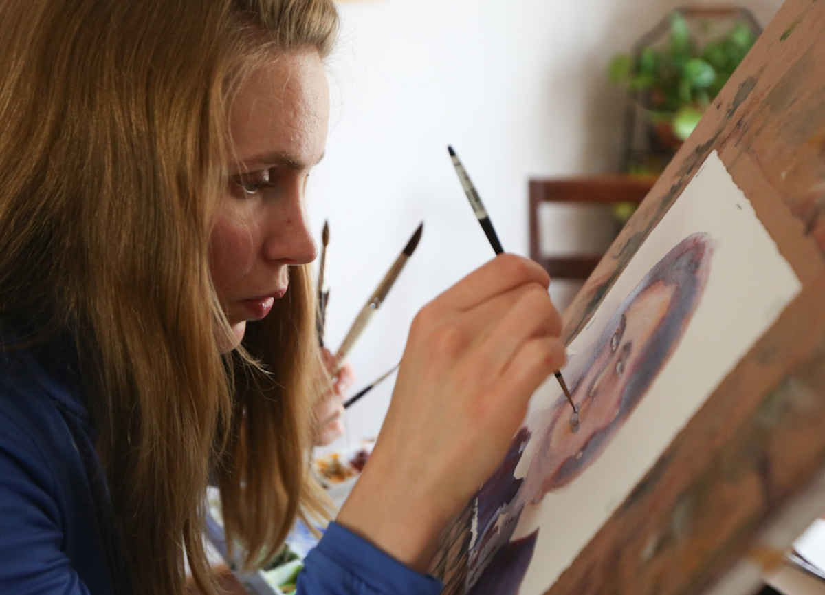 Painting portraits of modern saints 'has changed' artist's