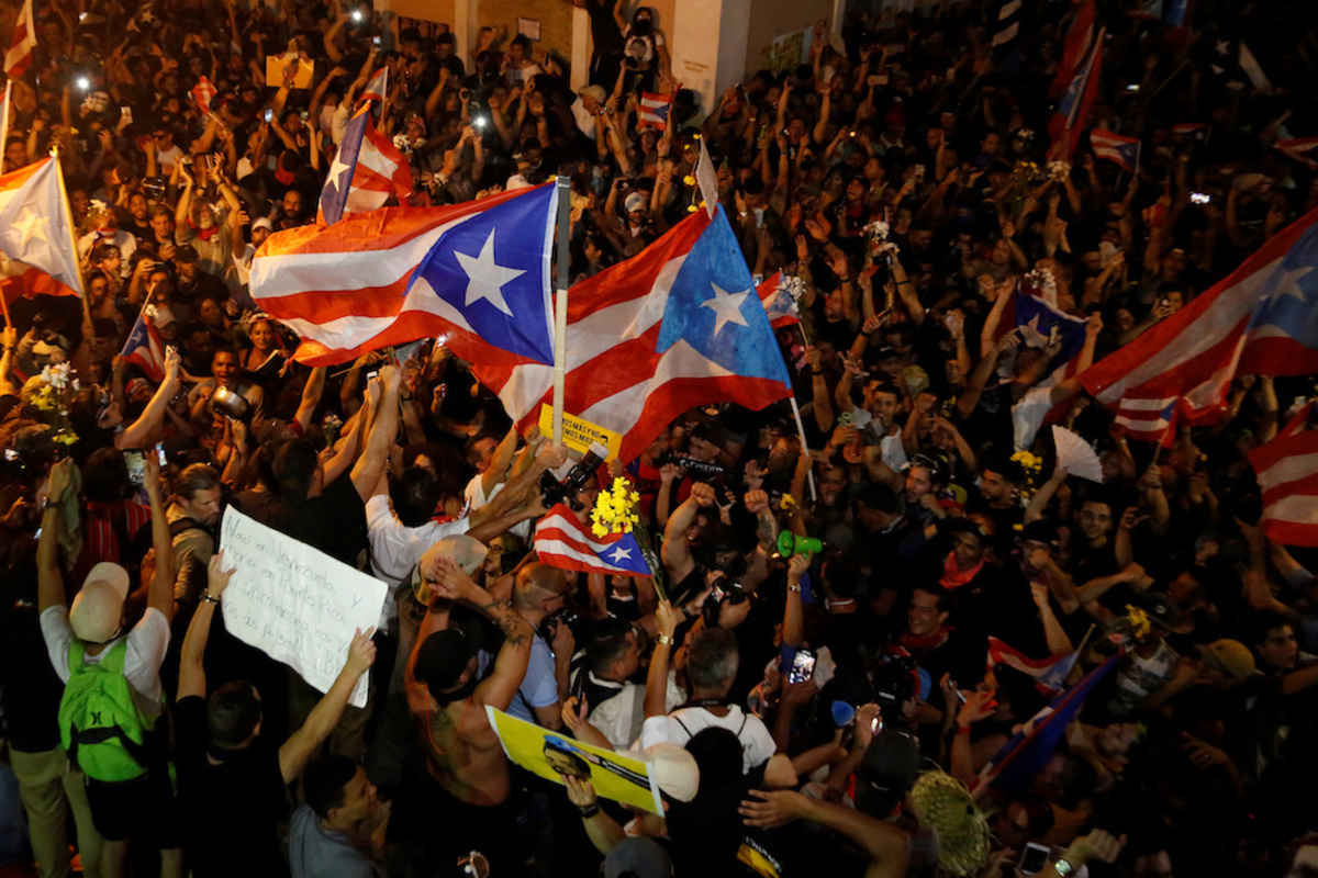 Puerto Rican Governor Resigns Amid Massive Protests Angelus News