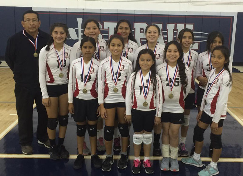 Assumption Wins Cyo Girls Volleyball Championship Angelus News