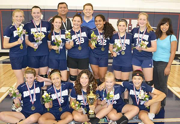 Assumption Bvm Wins Cyo Girls Volleyball Title Angelus News