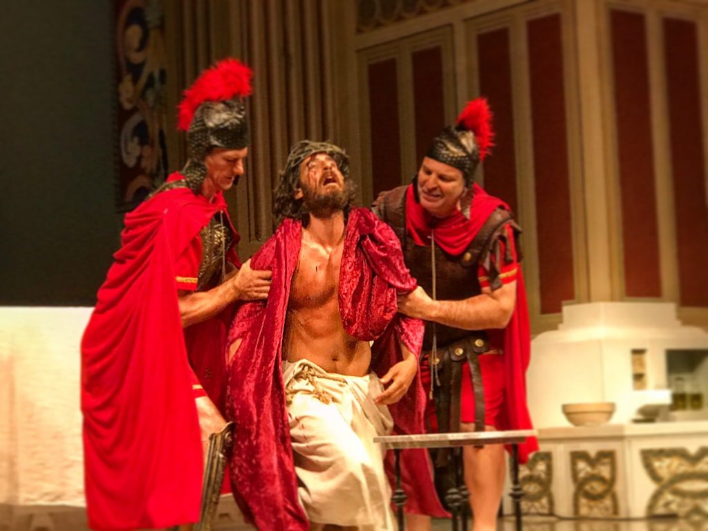 Catholic Actors Bring Live Passion Of The Christ To Central Los