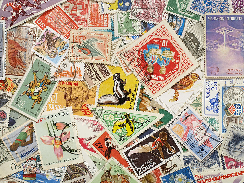 Donald Evans And His Fantastic World Of Postage Stamps