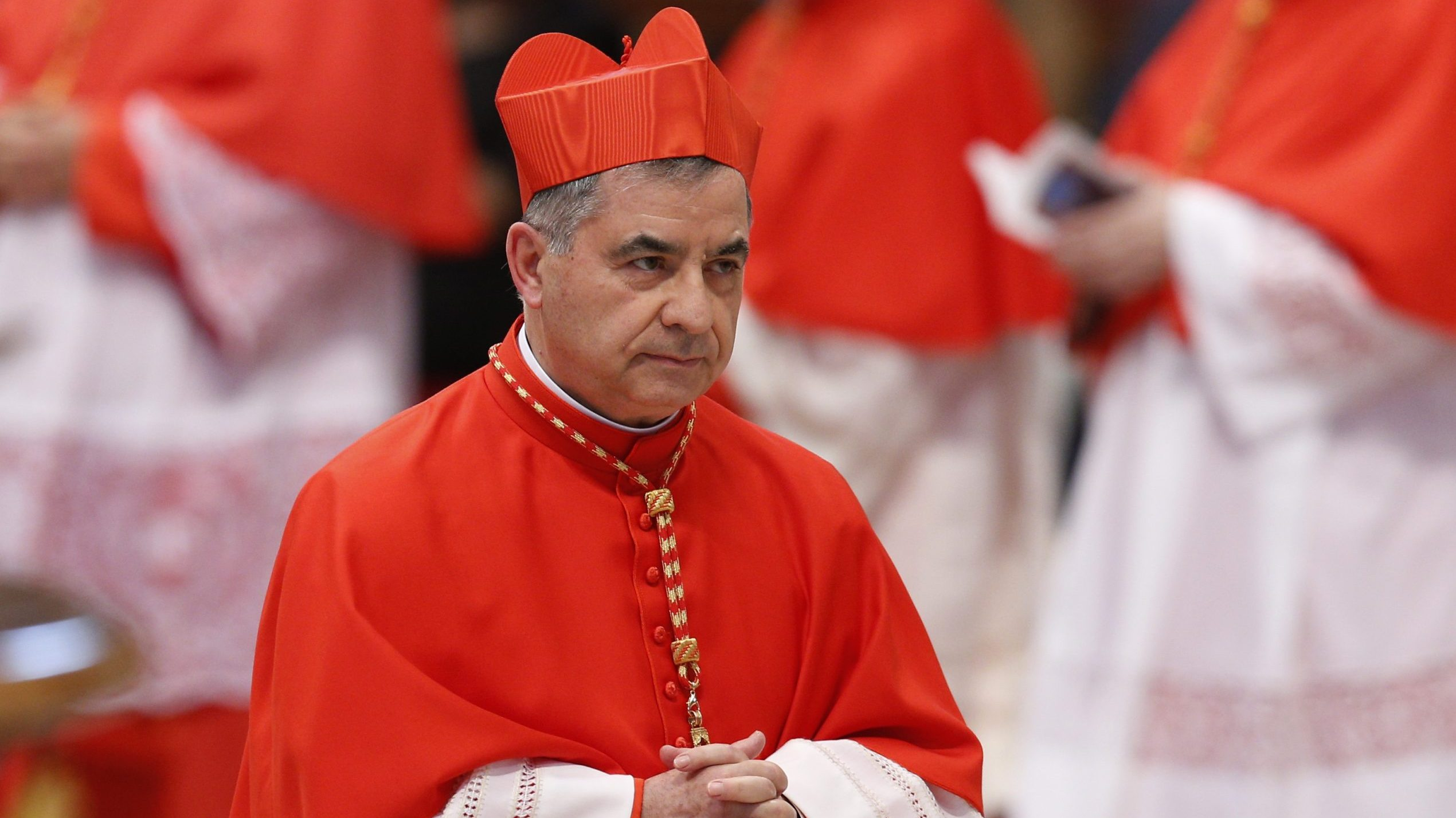 Vatican Cardinal Angelo Becciu resigns from office and 'rights' of  cardinals   Angelus News