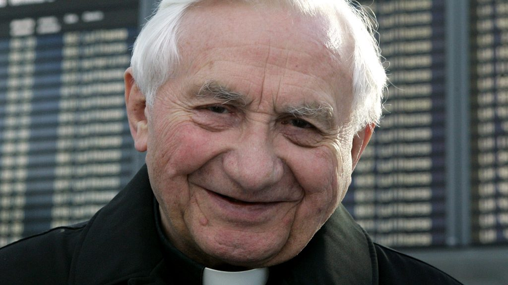 Georg Ratzinger Krank