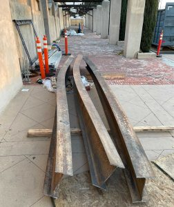 Mission San Gabriel begins replacing fire-damaged roof