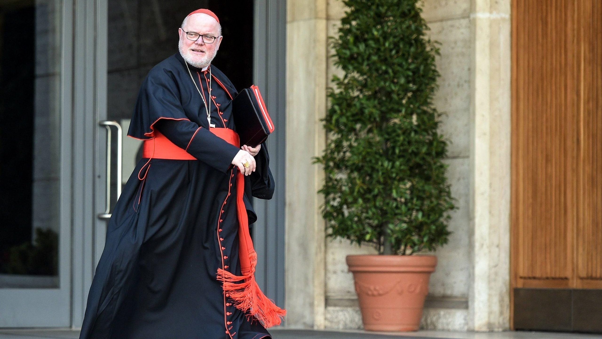 Cardinal Marx offers resignation to Pope Francis   Angelus News