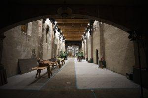 interior of Mission San Gabriel