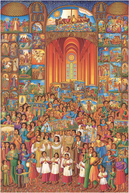 Acclaimed LA Catholic artist John August Swanson passes at 83